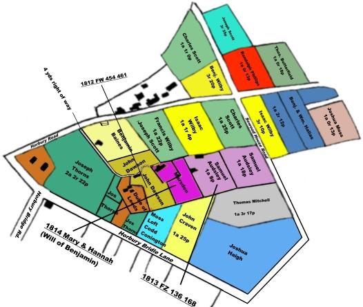 1813 Map