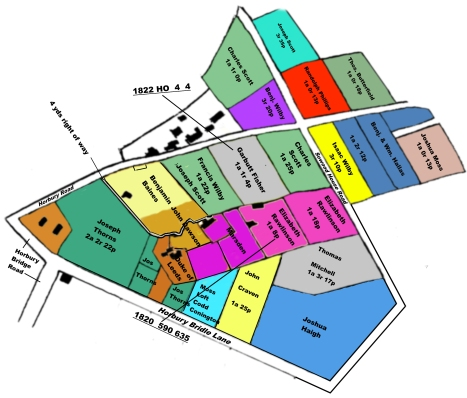 1822 Map