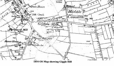 1854 OS Map