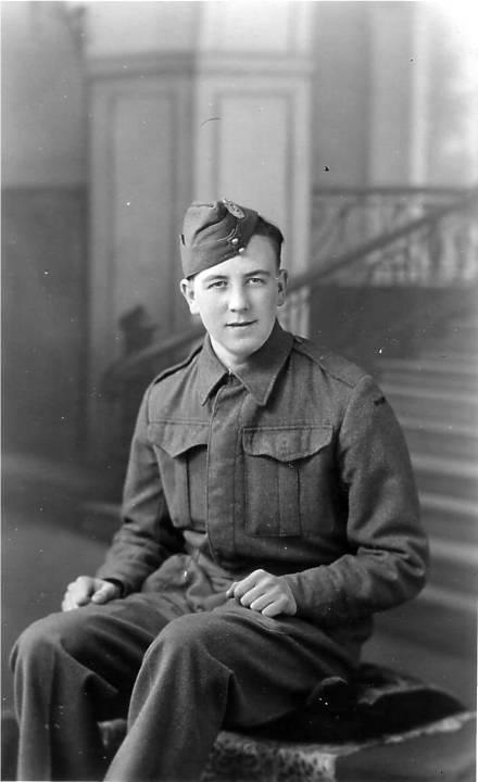 Arthur in Homeguard.aged 19 jpg