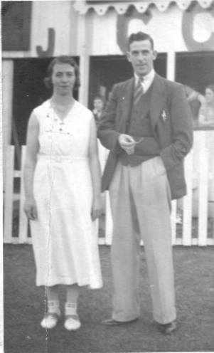 Elsie Allatt & George Worth - Horbury Bridge Cricket Club