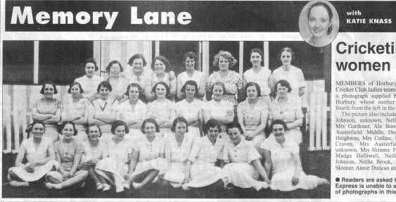 Hbry Bridge Ladies Cricket