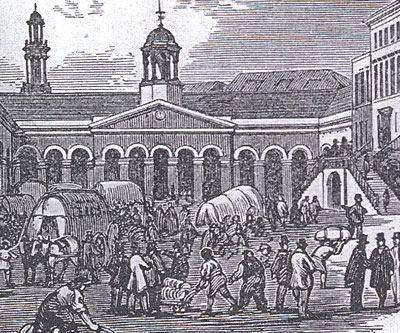 Leeds Cloth Hall 1814