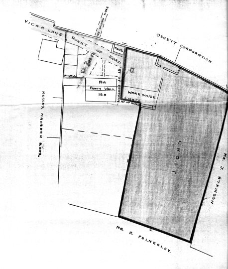 Plan of Croft