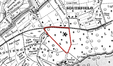 Sth Ossett OLD MAP edited