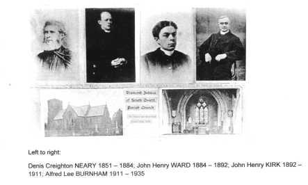 Vicars Postcard