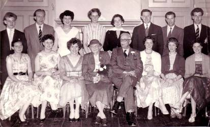 Young Peoples Fellowship South Ossett 1958