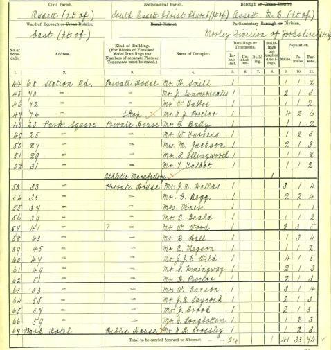 1911 Census-44 - 67
