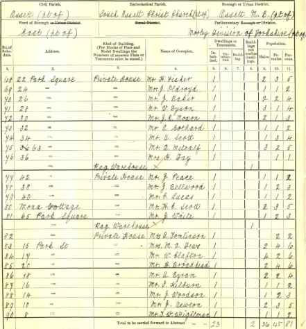 1911 Census-68 - 90