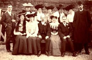 Harry & Annie's wedding 8 Dec 1904