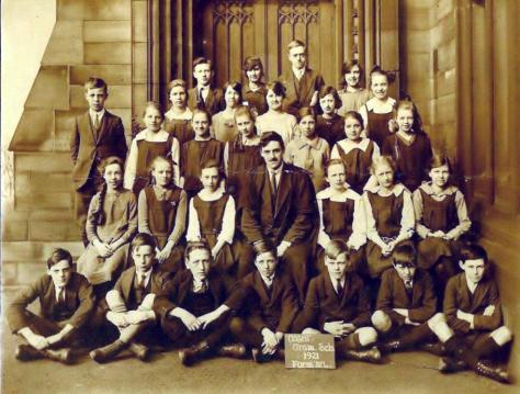 Ossett Grammar School 1921