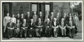 Ossett Grammar School Staff 1952