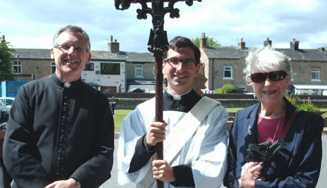 Father Brian, Father Andreas and Joan 6th Jun 15.edited jpg