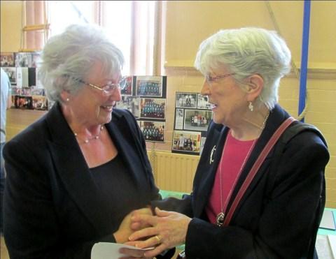 Margaret Glover & Joan Worth