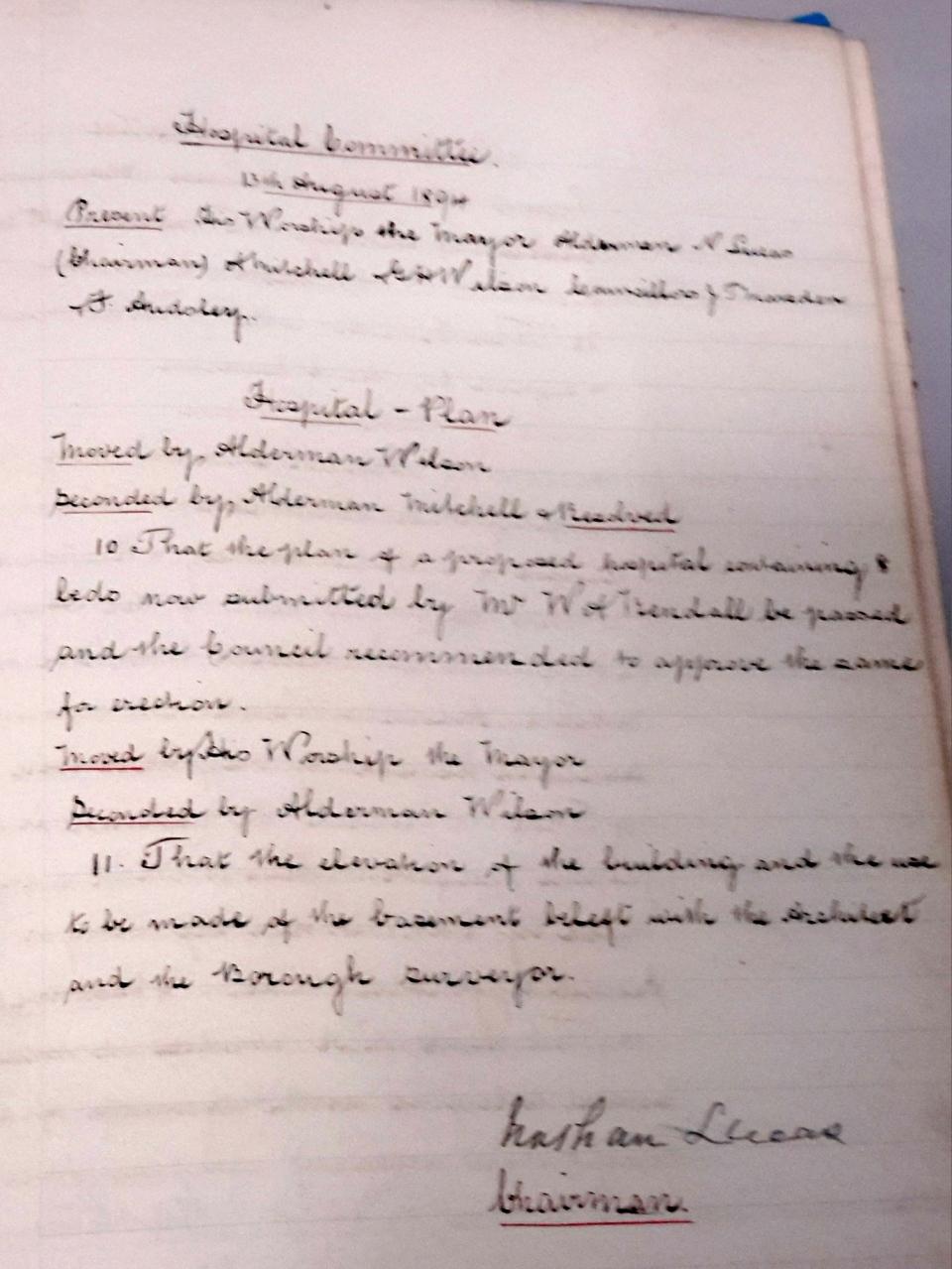 5) 13th Aug 1894