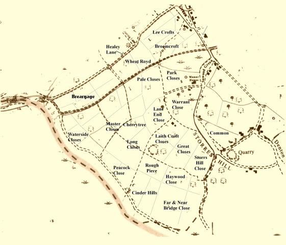Southwood Medieval Map JPS
