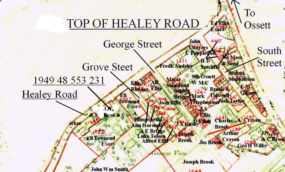 1936 - 1949 Healey Rd., Top for